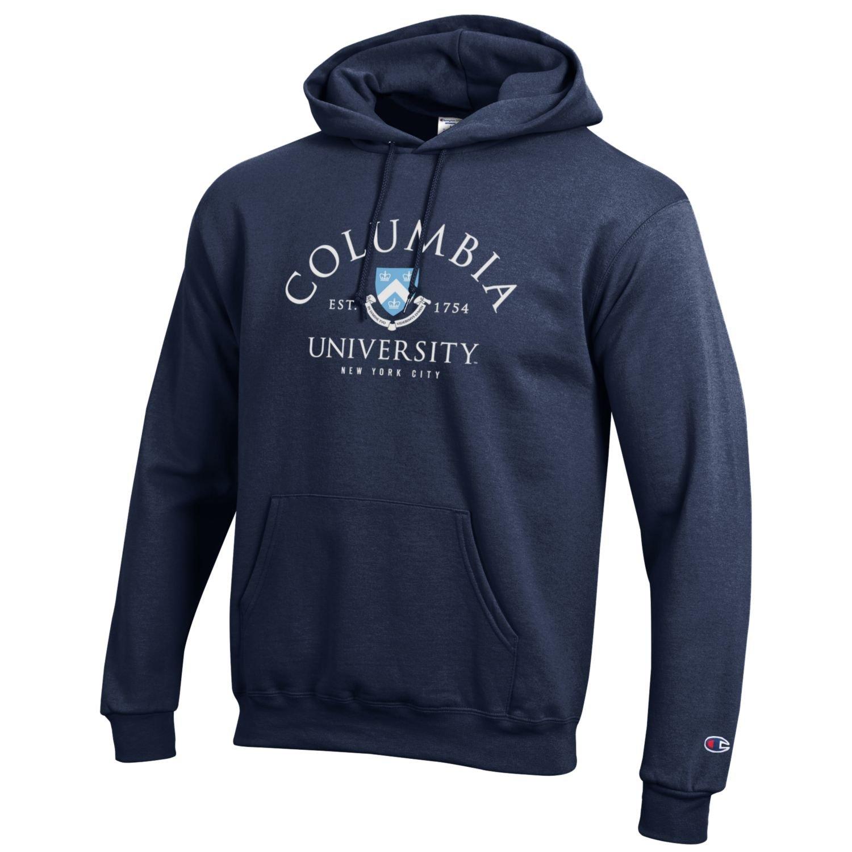 Bag2School Columbia University Lions Champion NCAA Hooded Sweatshirt