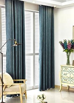 Rideaux Rideaux Coton écologique Bambou Coton Salon Chambre Rideau ...