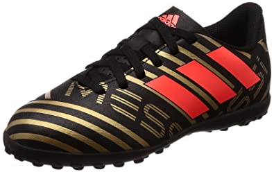 18d8b898bf66 Adidas Boy's Nemeziz Messi Tango 17.4 Tf J Cblack/Solred/Tagome Sports Shoes  -