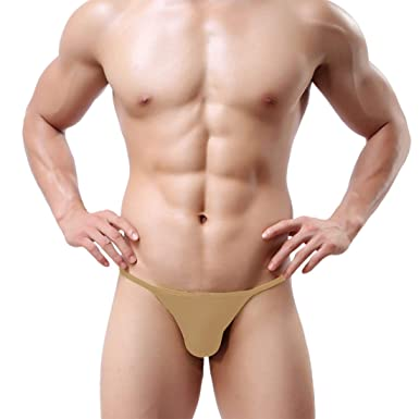 d3517046620e The Blazze Men's Modal U Back G String Sexy Low Rise Briefs Panties, Men  Boxer