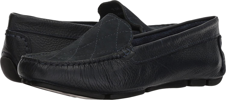 5751277901 Amazon.com   Massimo Matteo Women's Cross Vamp Driver Navy 6 M US   Loafers  & Slip-Ons