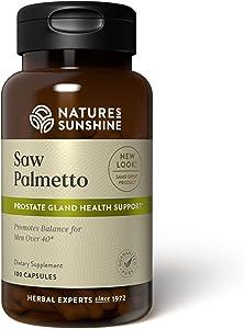 Nature's Sunshine Saw Palmetto 100 Capsules