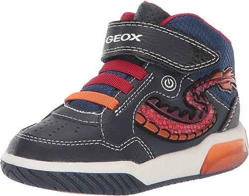 Geox Boys' J Inek E Hi-Top Sneakers