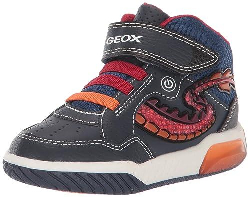 Geox Jungen J Inek Boy E Hohe Sneaker