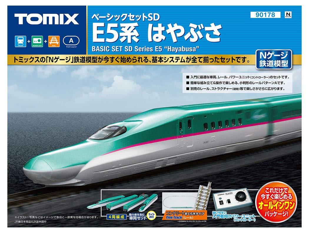 Amazon Tomix Nゲージ ベーシックセットsd E5系はやぶさ 90178 鉄道