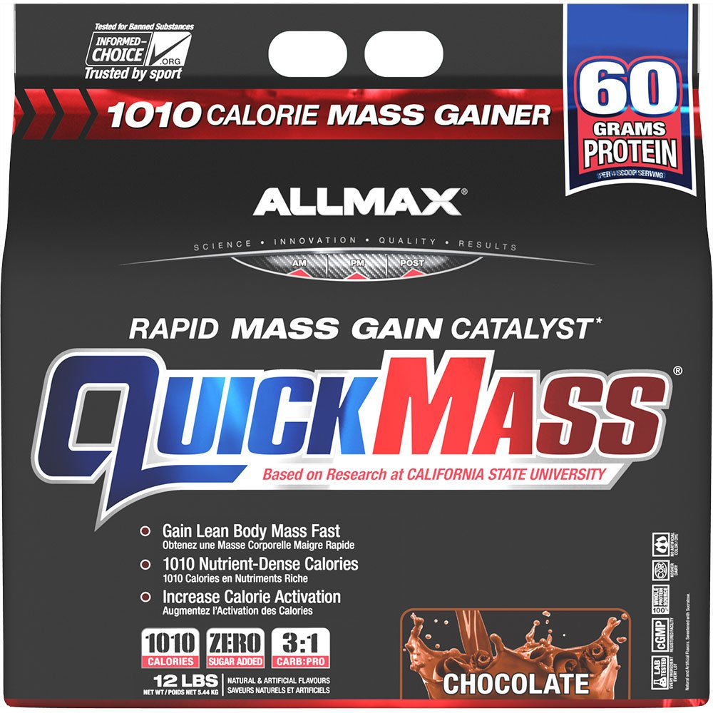 Allmax Quickmass Loaded 12lbs Chocolate