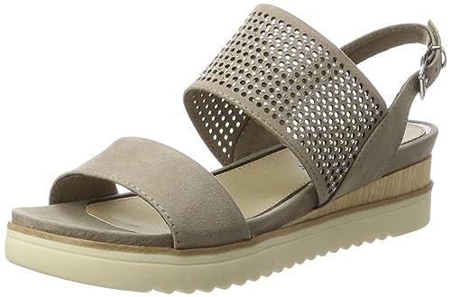 8c29e01beda MARCO TOZZI Women s 28204 Wedge Heels Sandals  Amazon.co.uk  Shoes ...