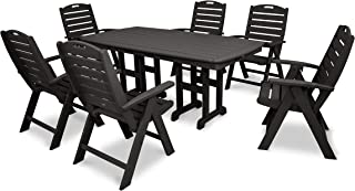 product image for Trex Outdoor Furniture Yacht Club Highback 7-Piece Dining Set