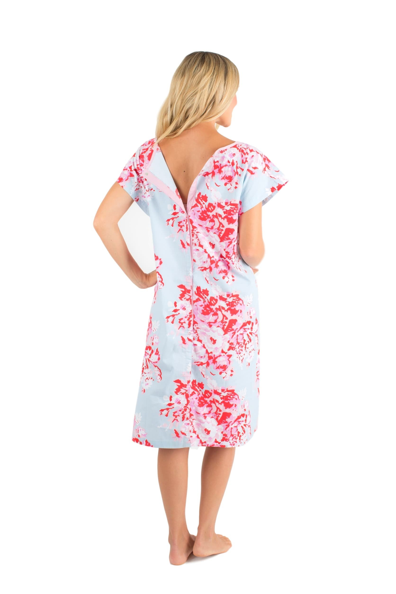 0bf56ca6f5813 Baby Be Mine Gownies - Labor & Delivery Maternity Hospital Gown Maternity,  Hospital Bag Must Have, Best (L/XL pre Pregnancy 10-16, Mae/Floral) -  43236-25264 ...