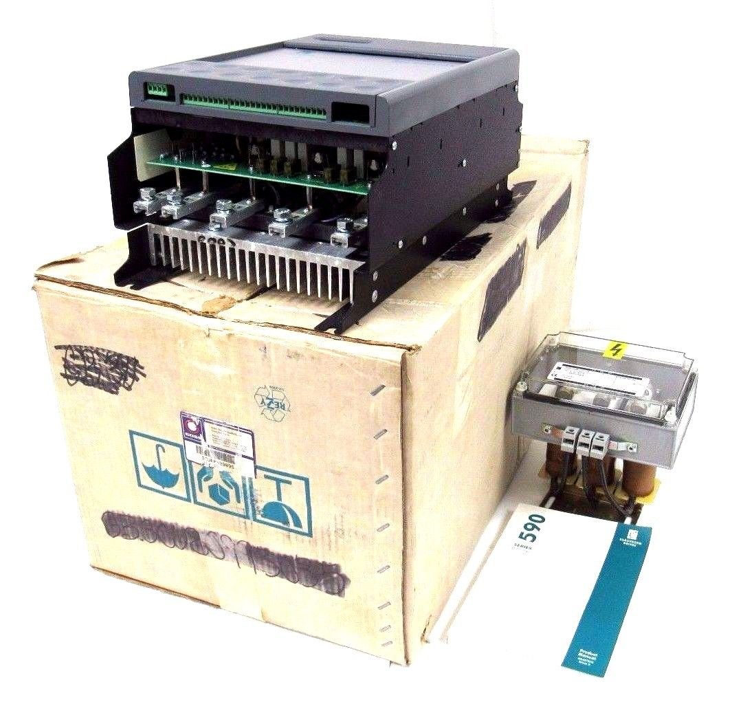 NEW EUROTHERM DRIVES 590C/0350/5/0/2/1/0/00/000 DRIVE WITH POWER SUPPLY