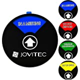 Jovitec Privacy Sign Office Sign, Include in a Meeting Sign Welcome Please Knock Sign Do Not Disturb Sign Out of Office Sign for Home Office Supplies, 5.9 Inches (Color 1)