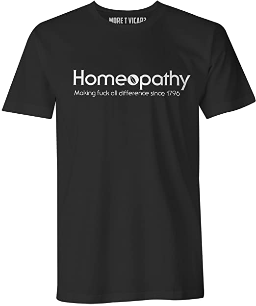 2d700db4b8 Homeopathy - The Daily Mash Official Merchandise - Mens T Shirt:  Amazon.co.uk: Clothing