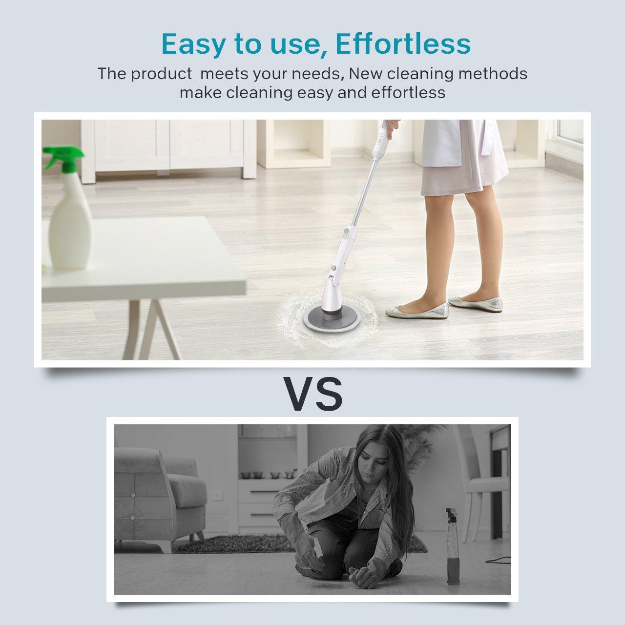 Homitt Scrubber Set for Floor, Window and Bathroom Tile Cleaning ...