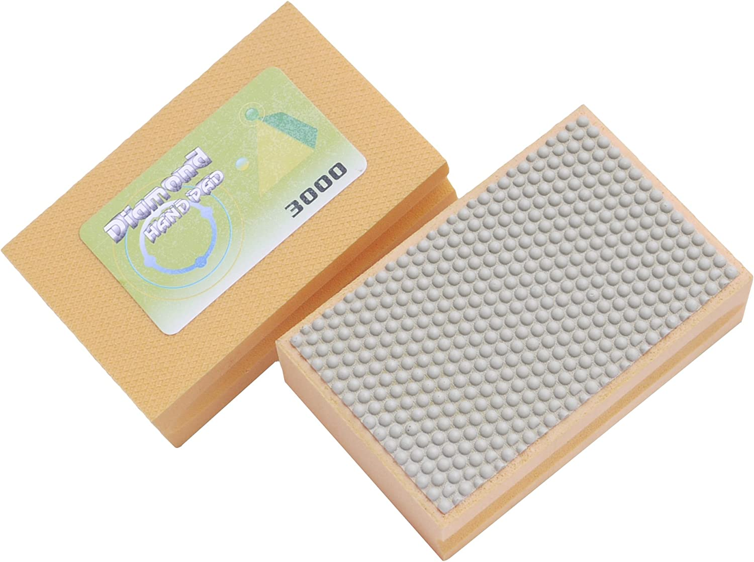 Details about  /3000 Grit Electroplated Triangular Polishing Diamond Oscillating Pads 93mm
