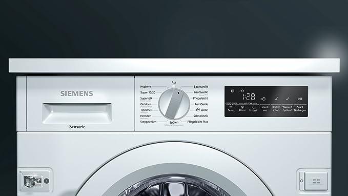 Siemens wi w iq waschmaschine frontlader vollintegrierbar