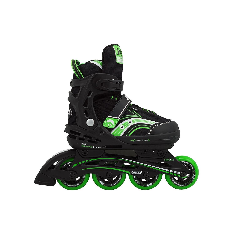 en l/ínea talla regulable color verde ABEC 5 verde//negro Patines Best Sporting 35-40 carbono