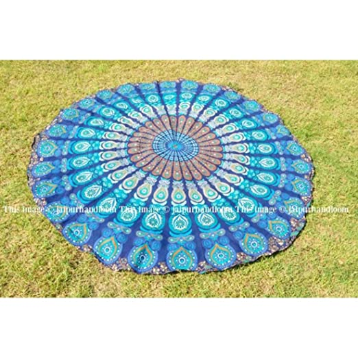 Indian Handicrafts Export Burning Man Hippie Blanket Throw ...