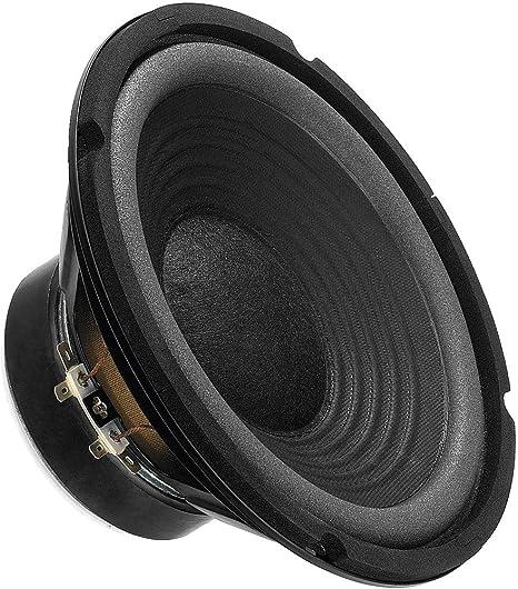 Monacor Sp 202e Hi Fi Tiefmitteltöner Kompaktes Bass Chassis In Voller Zweiwege Tauglichkeit Bietet Ausgezeichnete Klangqualität Speaker Für Den Selbsteinbau In Schwarz Audio Hifi