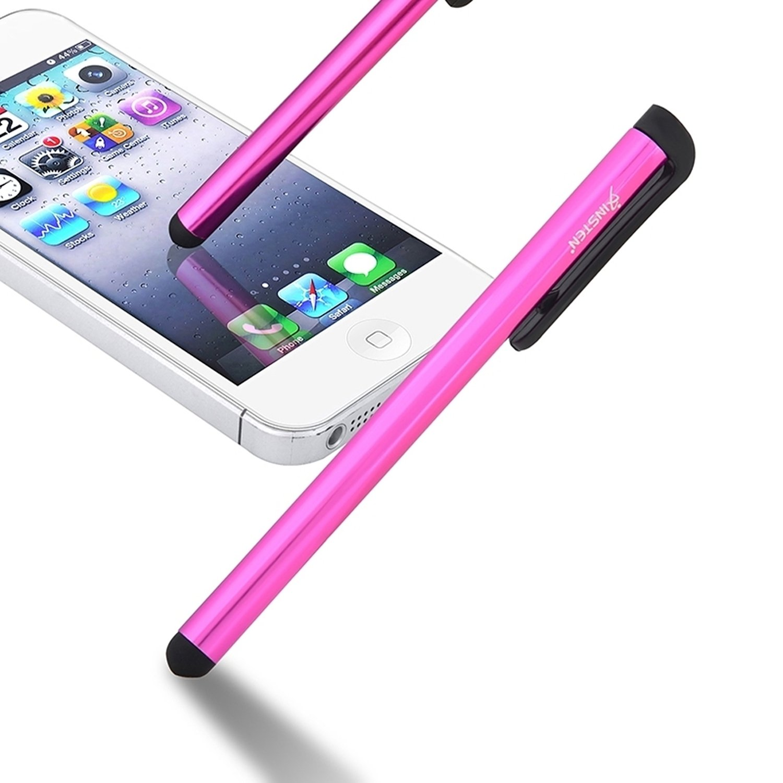 INSTENスタイラスW/クリップ、ピンクと互換性Pple Iphone 7 8.0/ 7 Plus 10.1/ s7 6s/ 6s Plus/iPad Mini 3/ iPad Air 2、SAMSUNG GALAXY s7 Edge/ s7/タブ4 7.0/ 8.0/ 10.1 B00KA5IJ8A, ブランノワール:5214124d --- sharoshka.org