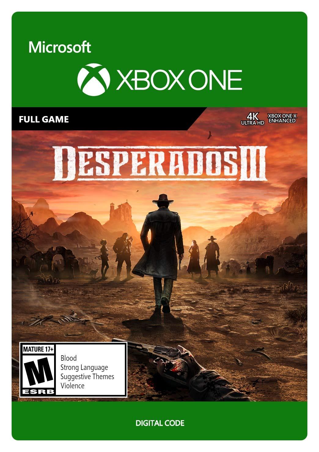 Amazon Com Desperados Iii Standard Xbox One Digital Code Video Games