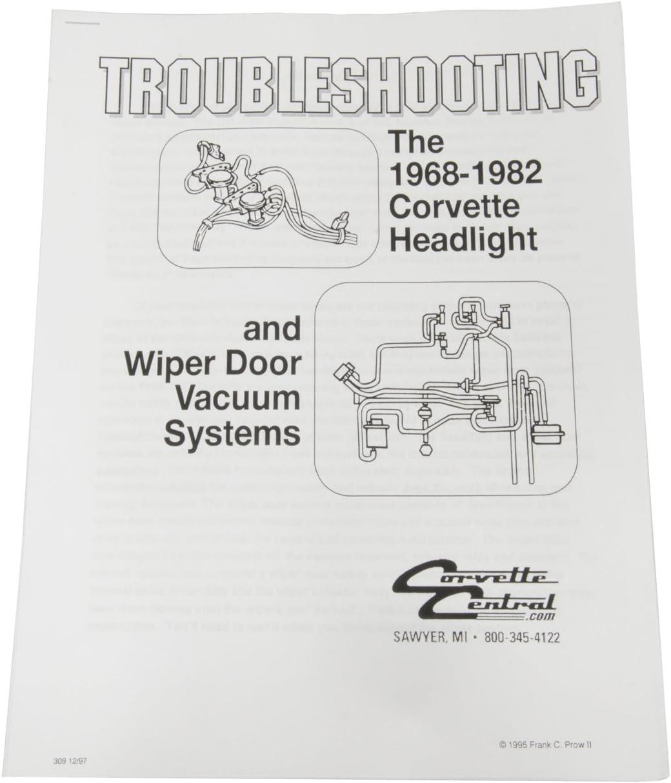 1968-1982 Corvette Headlight/Wiper Vacuum System Manual