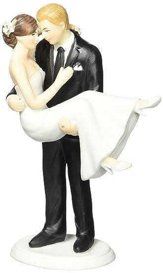 Brautpaar torte glatze