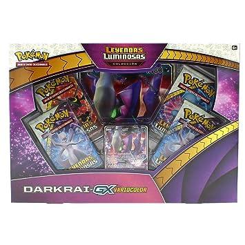 Pokemon JCC- Pokemon - Colección Darkrai GX Variocolor de Leyendas Luminosas - Español, Color (The International Company POGX1805)