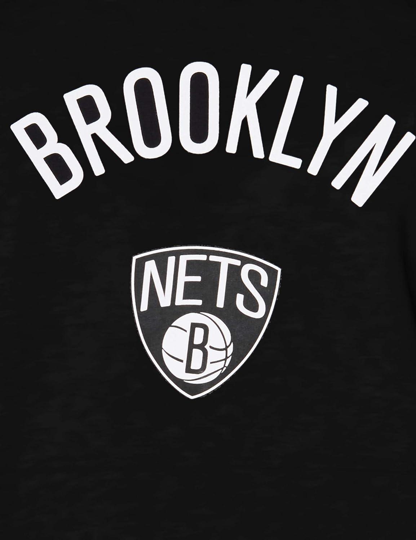 New Era Men's Brooklyn Nets Hooded Pullover Men's Hooded Pullover Black
