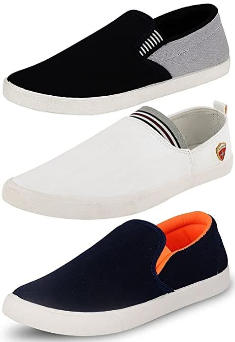 a7547cfac66 Ethics Perfect Combo Pack of 3 Loafer Shoes for Men  Buy Online at Low  Prices in India - Amazon.in