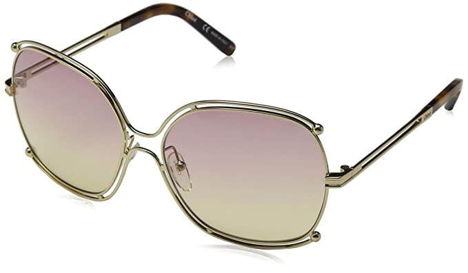 e88943a6073 Sunglasses CHLOE CE 129 S 702 GOLD/HAVANA/GRAD ROSE HONEY LE at ...