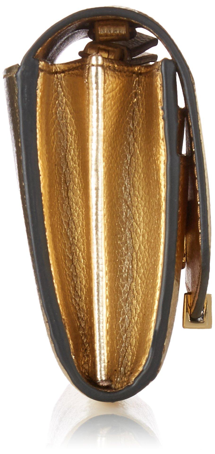 Ivanka Trump Mara Crossbody Wallet-Gold, Metallic Pebble by Ivanka Trump (Image #3)