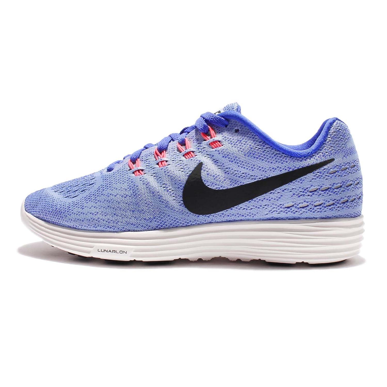 NIKE Women's Lunartempo 2 Running Shoe B01H5XLHMO 7.5 B(M) US|Aluminum/Black-paramount Blue