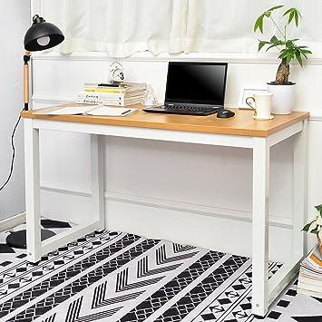 Life Carver Modern Simple Design Computer Desk Table Workstation For