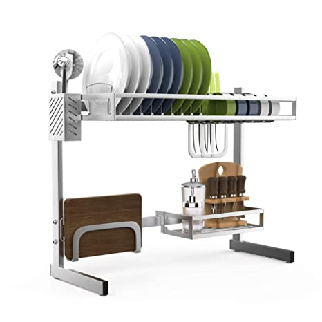 Amazon.com: Tendedero para fregadero de acero inoxidable 304 ...