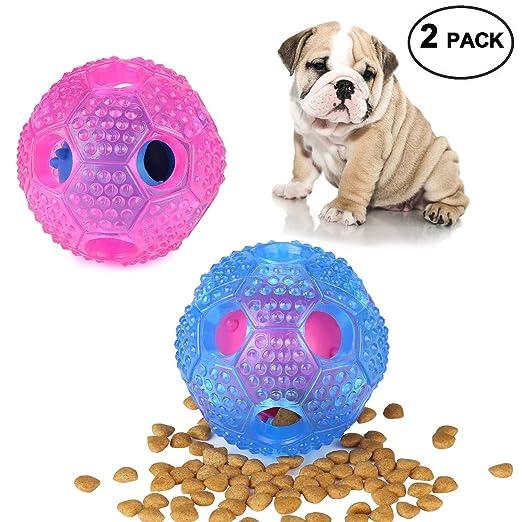 Amazon.com: Juguete interactivo para perro, pelota de ...