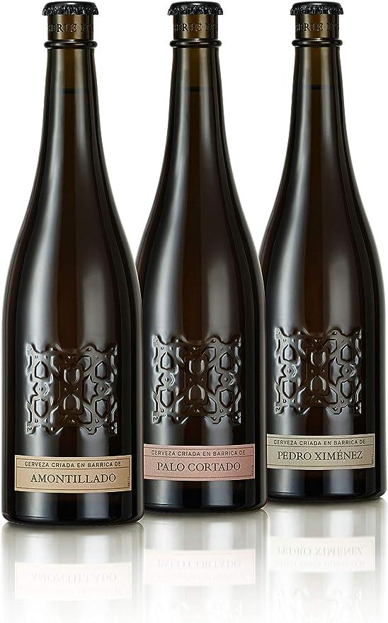 Alhambra Serie Nr. 3 - Cerveza de Barrica, Caja de 6 Botellas de 500 ml: Amazon.es: Alimentación y bebidas