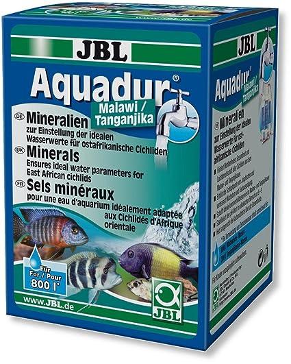 JBL Aquadur Malawi Tanganyika Cichlids aumento en KH y GH equilibrio de pH agua planta Fish