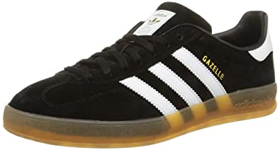 low priced 3e4fd adaa6 adidas Gazelle Indoor, Men s Running Shoes, Black (Core Black Ftwr White