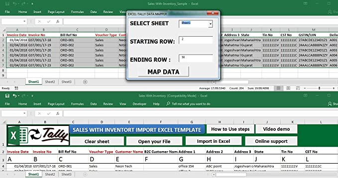 Excel-Tally Software(Standard Version): Amazon in: Software