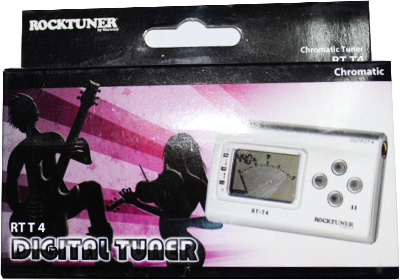 Rocktuner RT T 3 Auto-Chromatic Tuner black Guitar//Bass//Chrom.