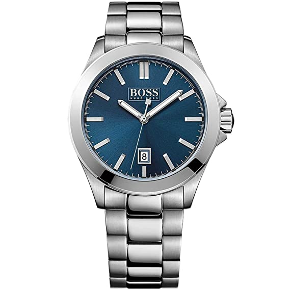 Hugo Boss - Reloj de Pulsera Hombre 1513303: Hugo Boss: Amazon.es: Relojes