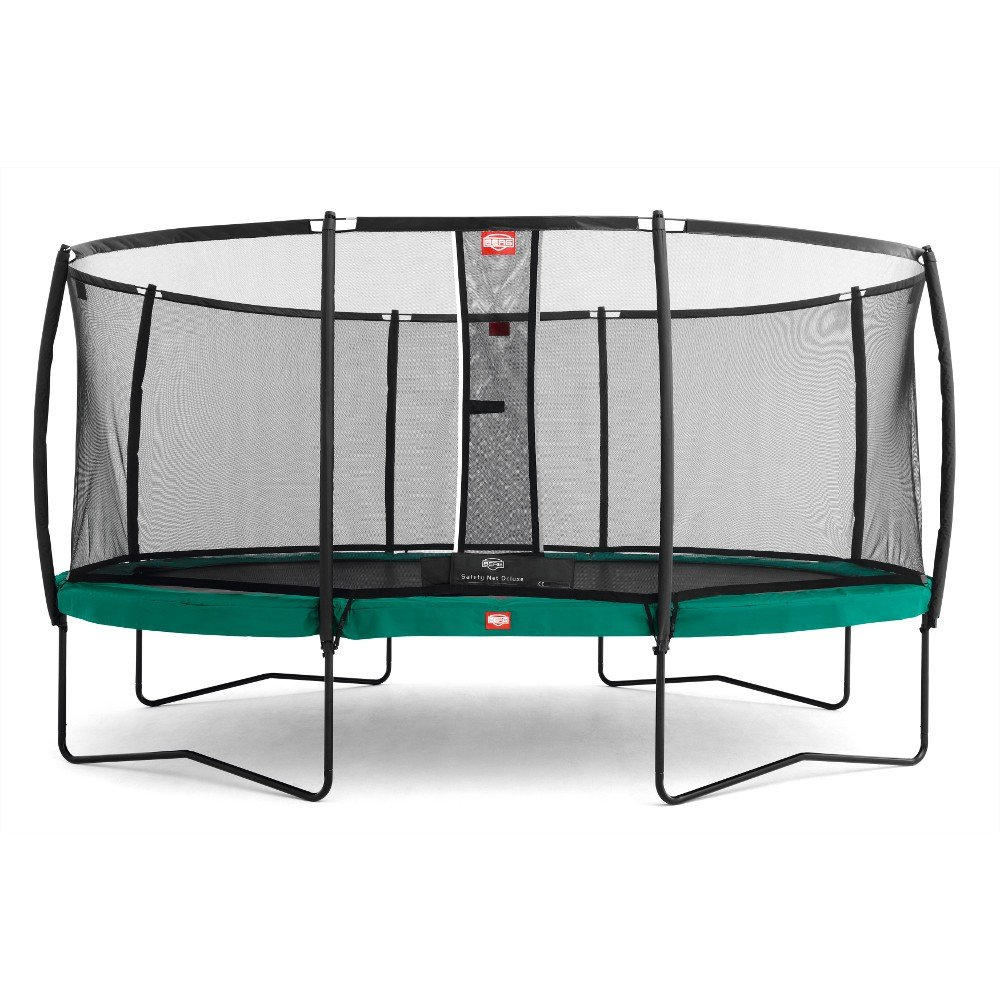 Berg Toys 35.63.02.00 Trampolin Grand Champion inklusiv Netz-Regular, 515 x 365 cm
