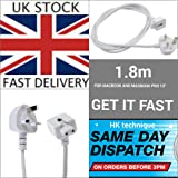 """UK extension power cord for Apple AC Adapter Charger Macbook 13"""" Macbook Pro 15"""""""