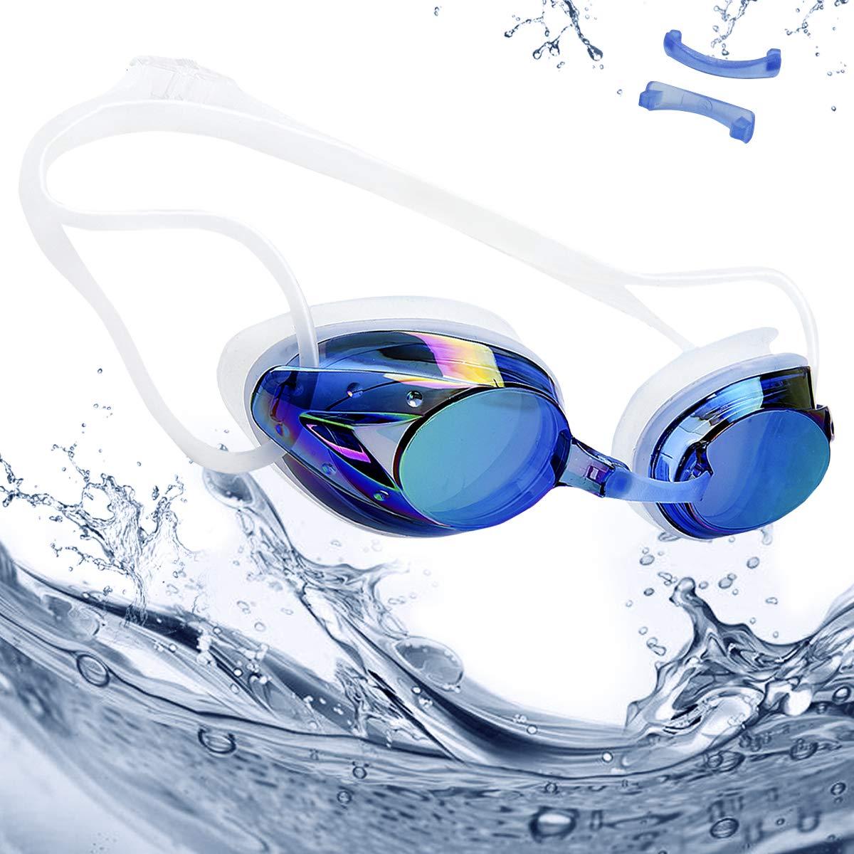 rabofly Gafas de Natación, Protección UV Antiniebla Gafas de nado Impermeable y Vista Clara Gafas