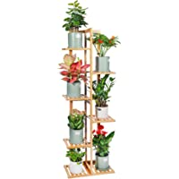 Deals on Desheng Bamboo Plant Stand Rack 6 Tier 7