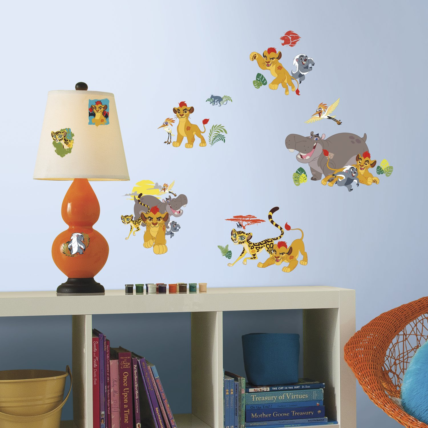 Room Studio 539160 Decoration Repositionable Vinyl Multielement Disney Lion King Plastic Yellow 25x01x46 Cm Amazoncouk Kitchen Home