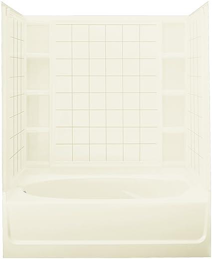 Sterling 71110116 96 Ensemble Bath Tub And Shower Kit 60 Inch X 42