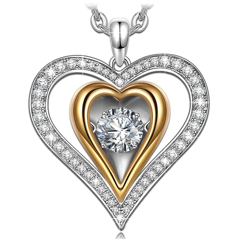 Dancing Heart Confesión de Amor Collar Mujer Plata