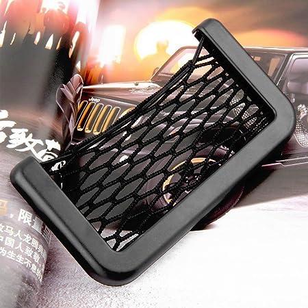 Duanmei Auto Sitzseiten Zurück Lagerung Aufbewahrungsnetz Elastische String Net Mesh Netz Beutel Telefon Halter Taschen Organizer Für Auto Auto