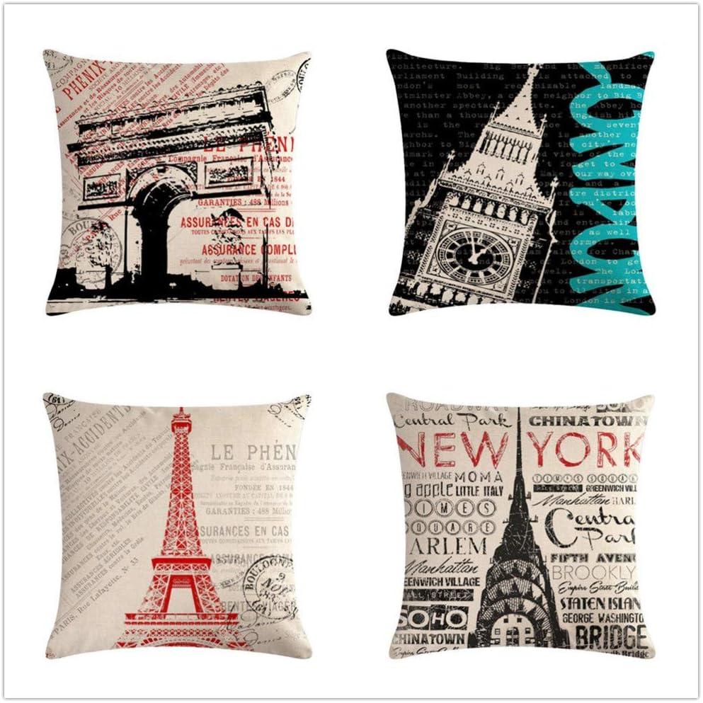 KYLong Linen hug pillowcase Paris